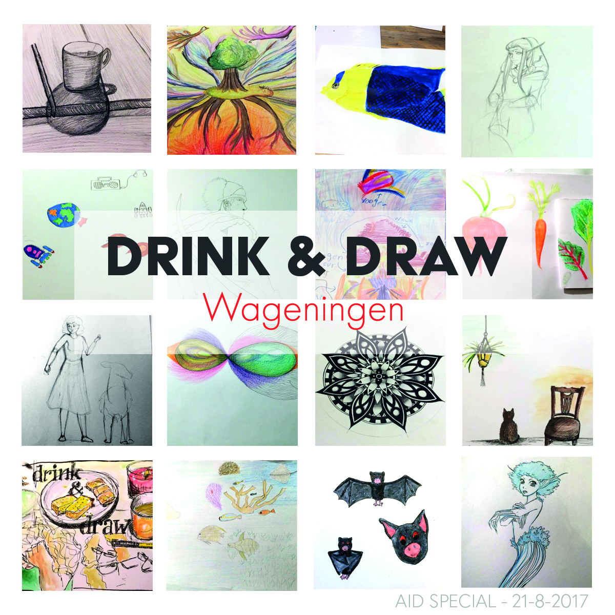 21 August | Drink & Draw