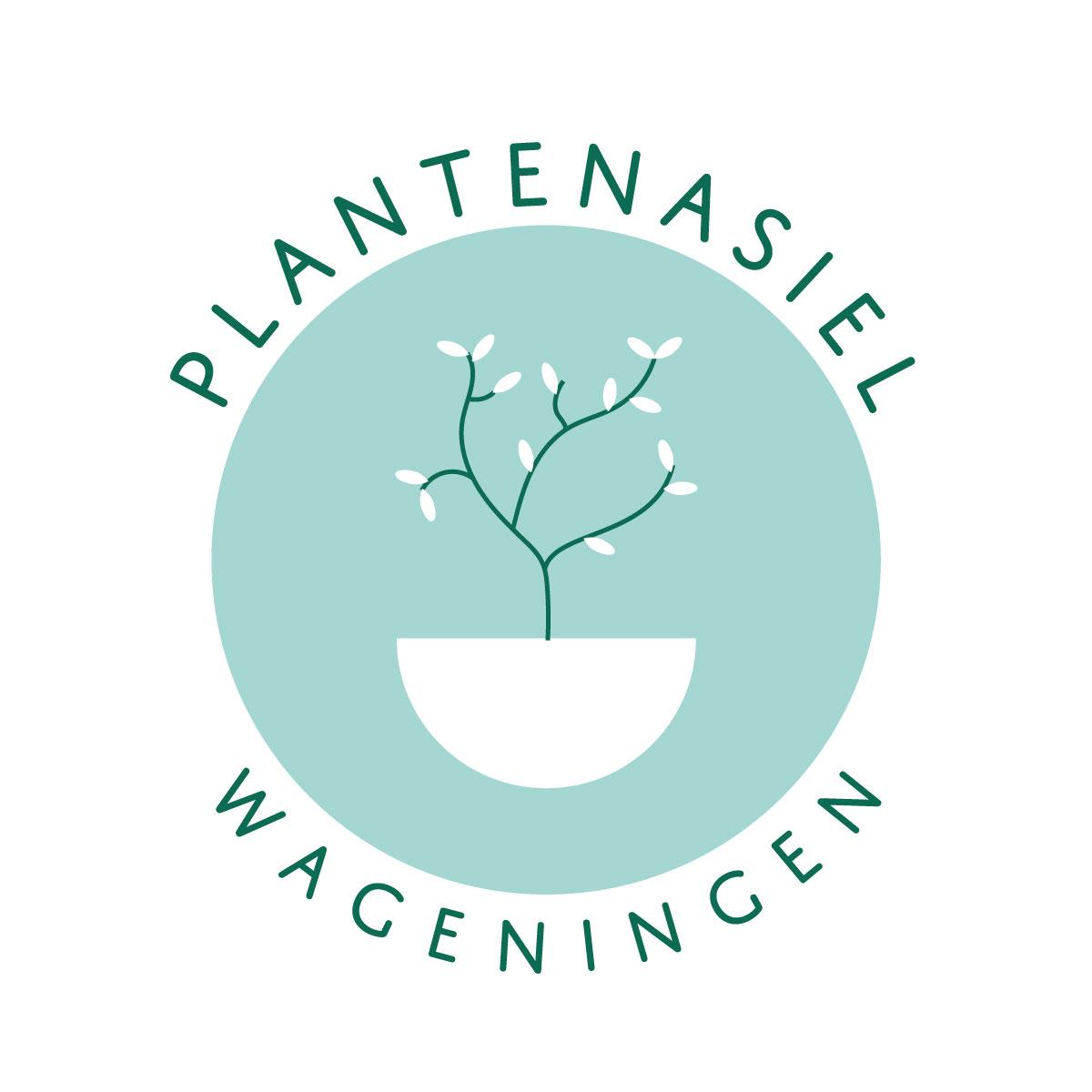 Logo design for Plantenasiel Wageningen
